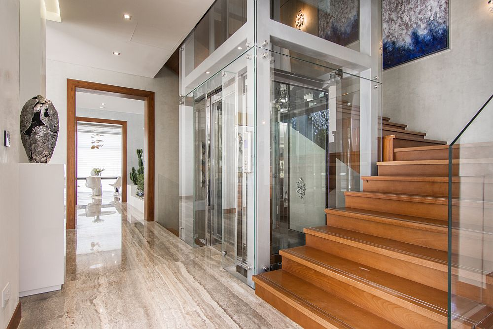 Bunglow lift hydraulic home lifts for Cheap home elevators