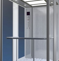 Glass Elevator Cabin